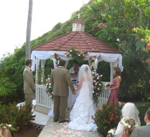 Carpenter Wedding at Frenchman's Reef Gazebo