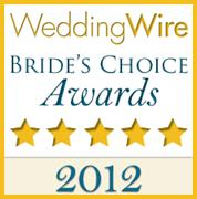2012 Wedding Wire Bride's Choice Award