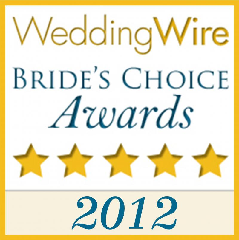 2012 Wedding Wire Brides' Choice Award