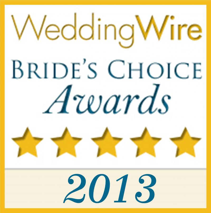 2013 Wedding Wire Brides' Choice Award