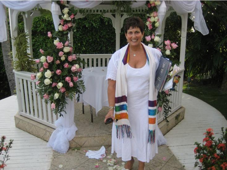 Diane after wedding